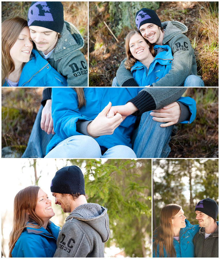 förlovnings fotografering engagement session