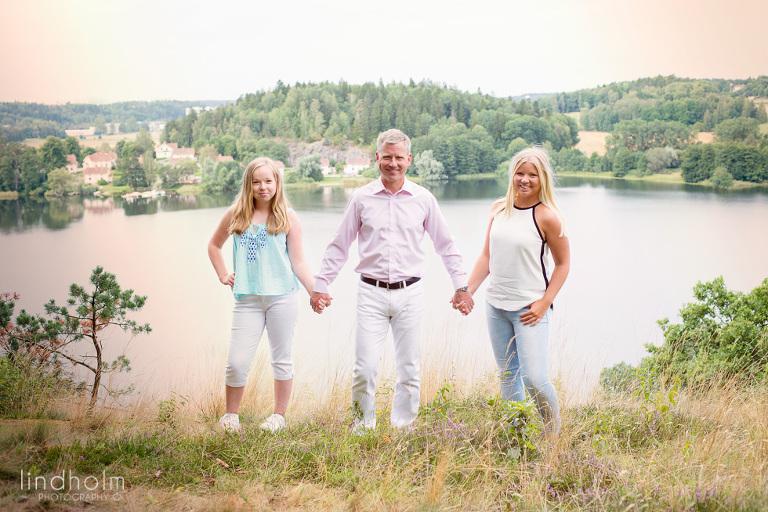 familefotografering stockholm utomhus i tullinge