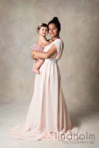 bebisfoto med mamma