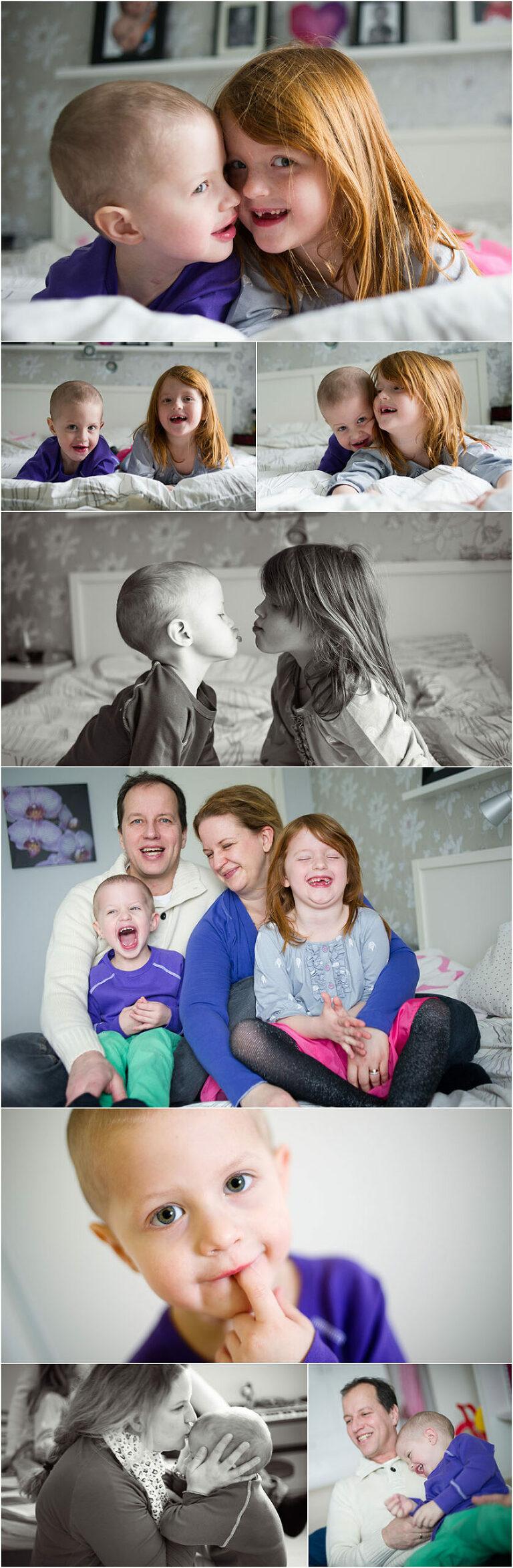 essence vitae fotografering med sjuk barn