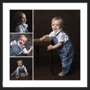 collage tavla med 4 bilder