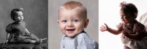 babyfotografering i studio