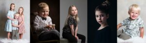 barnfotografering i studio i stockholm