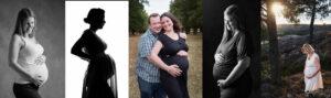 gravidfotografering i stuio eller utomhus gravidfoto